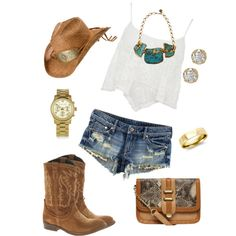 This is perfect for a summer country music festival!