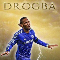 99eb9a959 DIDIER DROGBA Chelsea Football