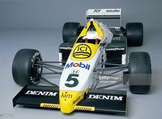 Williams FW09B. As driven by Jacques Laffite throughout the 1984 season. In 1983 the Williams team began collaborating with Honda; the result of which was this car.