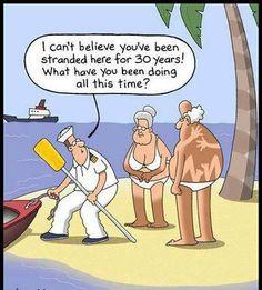 Wat hebben jullie gedaan op dit onbewoonde eiland?