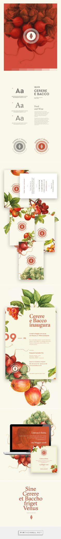 Cerere e Bacco - Branding on Behance - created via https://pinthemall.net