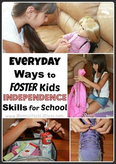 Everyday ways to foster kids independence skills for school readiness