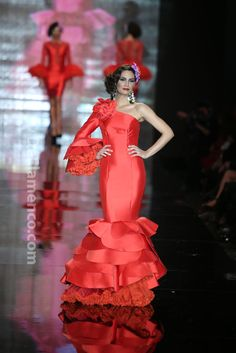 Fotografías Moda Flamenca - Simof 2014 - Juana Martin 'Amaya' Simof 2014 - Foto 11