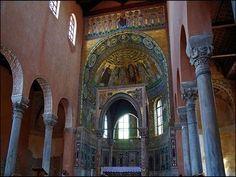 La basilique Eurasienne inscrite au Patrimoine mondial par l'Unesco © Maurice Albray #Porec