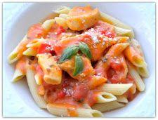 Spicy Tomato Chicken Alfredo