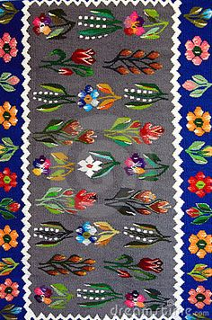 Photo about Romanian wool towel with traditional pattern. Image of market, traditional, towels - 15826244 Pattern Art, Creative Inspiration, Rug Runner, Vintage Rugs, Flower Art, Folk Art, Arts And Crafts, Kids Rugs, Stools