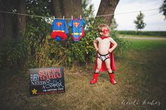 Every Superhero Needs a Sidekick Pregnancy Announcement for TWINS! by MMasonDesigns
