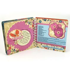 Adorable minibook with the Cinch. #wermemorykeepers #cinchtool #minialbums