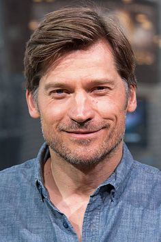 Nikolaj CosterWaldau visits 'Extra' at their New York studios at HM in Times Square on April 10 2015 in New York City