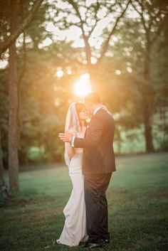 Bride and groom dancing at sunset at Rust Manor House Wedding, Leesburg, Virginia