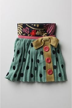 Adorable skirt, Holly would love it!