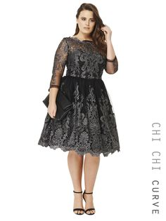 Chi Chi Curve Lottie Dress