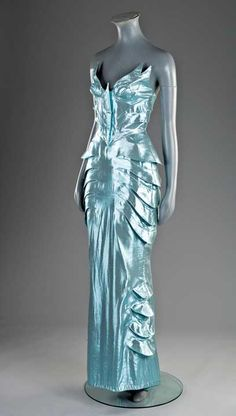 Evening ensemble by Thierry Mugler, ca. 1987-89