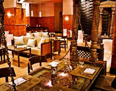 """The Patiala Lounge at Michelin Star Indian restaurant """"Junoon"""" in NYC"""