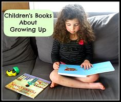 Our favorite children's books about growing up {book set}