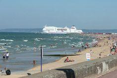 Le ferry en partance pour Southampton