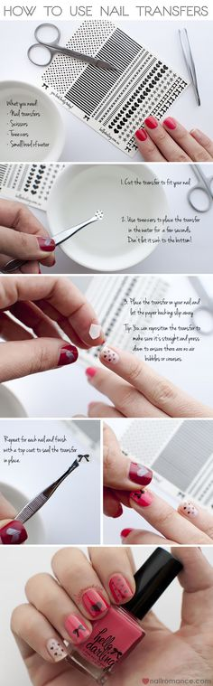 Nail-Romance-Tutorial-How-to-use-nail-transfers
