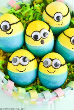 DIY Minion Eggs