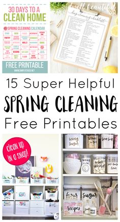 15 Helpful Spring Cl
