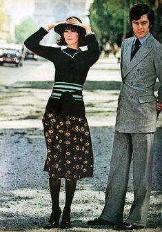 a248d0f343d8 1973 - Susan Moncur in Sonia Rykiel , by Helmut Newton for Vogue 60s And 70s