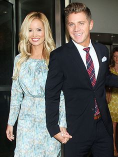 Emily Maynard and Jef Holm.  Makes me happy that they're happy.