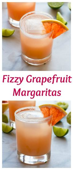 A fun, flirty twist on a classic margarita recipe, this pink grapefruit margarita is so refreshing and perfect for any party! | www.wellplated.com @wellplated