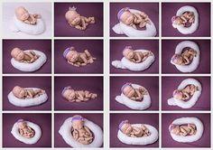 Posing Egg With Pillow Newborn posing pillows