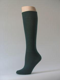 00cf2fed5 Dark green kids youth soccer sock for children knee high from sports socks  manufacturer wholesaler