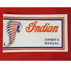 Indian owner's manual