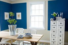 How to use paint to mimic the look of trim to add height and architecture to a plain space. |    Photo: Wendell T. Webber | thisoldhouse.com