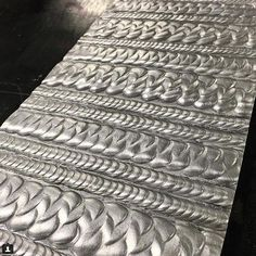 Weld by @Aluminum_expressions on #Instagram #westcoweld #ukwelding #welding #weld #welder #weldart #tigweld #migweld #stickweld #pattern #arczone #weldernation #weldporn