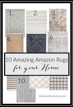 10 Amazing Farmhouse Rugs for Your Home &; The Hamm Homestead 10 Amazing Farmhouse Rugs for Your Home &; The Hamm Homestead The Hamm Homestead thehammhomestead Simplify My Life 10 Amazing […] room rug Living Room Area Rugs, Living Room Carpet, My Living Room, Living Room Decor, Dinning Room Rugs, Rug Under Dining Table, Living Spaces, Farmhouse Area Rugs, Farmhouse Style Rugs