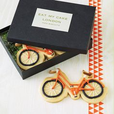 bicycle biscuit by eat my cake london | notonthehighstreet.com