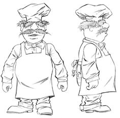 swedish chef coloring pages - Google Search