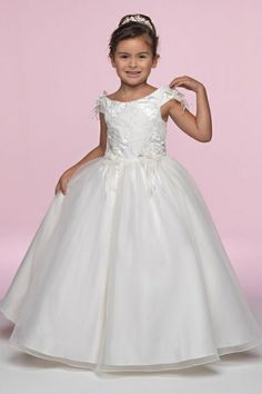 Flower Girl Dress LM3381 by Little Maiden