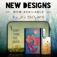 check out our new designs by Joy StClaire.  Amazing prints looking awesome on our cases. you can order your unique custom case on our website: www.caseable.com