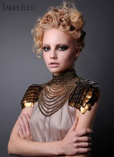 indian designer Haute Couture | laureluxe to present bold metal couture designs a t coutur e fashion ...