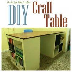 11 Art Tables Storage Ideas Storage Craft Table Art Table