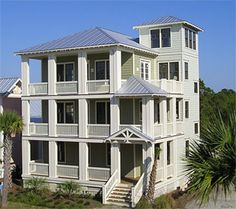 Cottage at Carolina Beach, NC. Design by Coastal Designs of Wrightsville Beach, NC