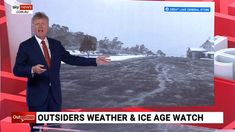Cold Temperature, Sky News, Ice Age, Climate Change, The Outsiders, Weather, Australia, Watch, Youtube