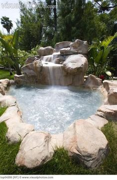 Outdoor Jacuzzi Ideas: Designs, Pros, and Cons [A Complete Guide] : Imagine dipping yourself in these jacuzzi. These outdoor jacuzzi will revitalize your body after a long tiring day. Backyard Pool Landscaping, Backyard Pool Designs, Small Backyard Pools, Small Pools, Landscaping Ideas, Backyard Ideas, Hot Tub Backyard, Pool Decks, Pool Landscape Design