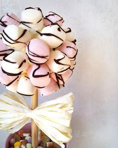 Sweet trees - these look fabulous and make either an eye-catching centrepiece or addition to any candy buffet.
