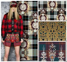 AW15 forecast from Stylesight - Megatrend - Dissonance - Dissonance offers a dark and delicious whirlwind of prints, as tribal tones and a decadent, discordant spirit sweep through the season.