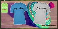 Carpe Diem (Seize the day!) #Ambigram tshirt | Available now! @aleph0clothing | Unisex $22.99 #carpediem #latin #gift #fashion #tshirt