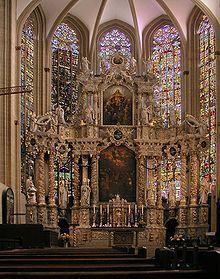 Catedral de Erfurt – Wikipédia, a enciclopédia livre