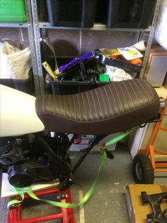 Seat re-shaped and trimmed by Autotrim in Ivybridge