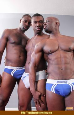 more sexy black men with bulges  muscles at http://nextdoorebonydudes.tumblr.com #sexyblackmen #bigbulge