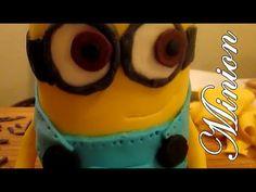 3D DESPICABLE ME MINION CAKE [EASY TUTORIAL] - YouTube
