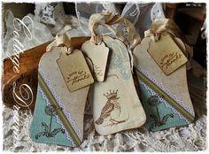 Cottage Dreams: Labels Cards .... .... ATC Book
