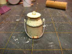 Miniature Tutorials - Cream Can